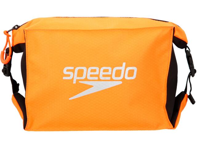 speedo Pool Side Mochila/Bolsa Set, Largo, black/fluo orange